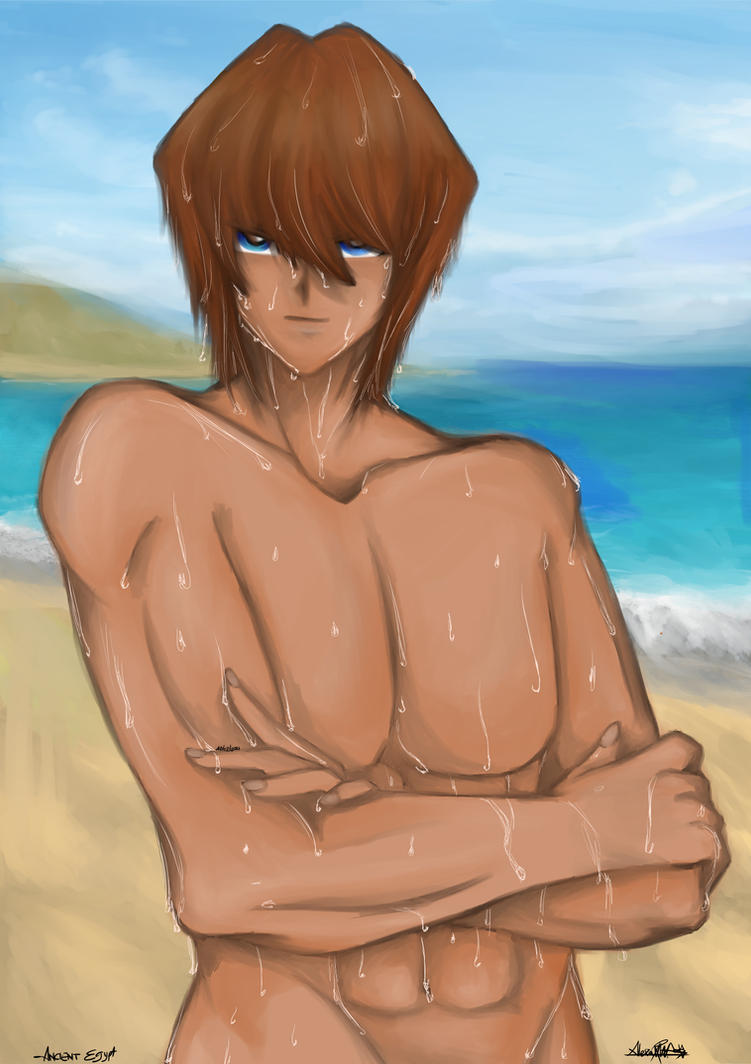 Priest Seto after a little swim by Xhyshtar