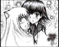 Inuyasha and Kagome:my valen..