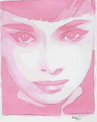 Pink Hepburn by Gottobestrange