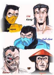 Mortal Kombat Legends by LadyAnime79