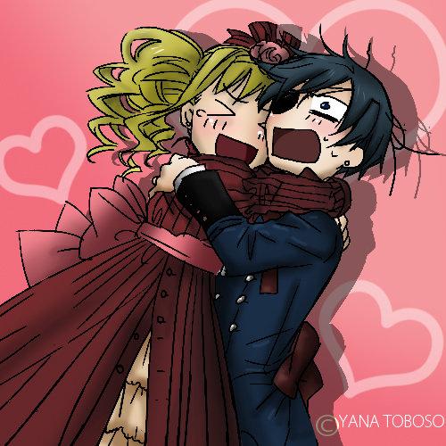 ciel and elizabeth by Diana-hiwatari
