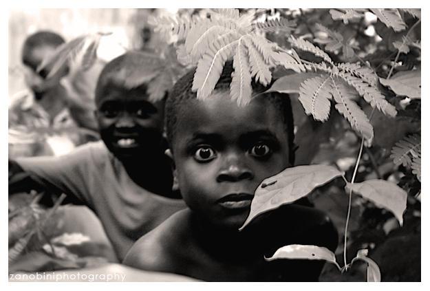 Children at Ghana I by gianfrancozanobini