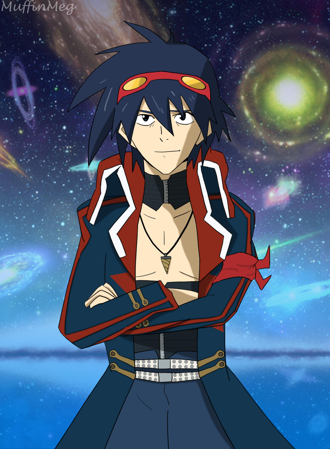 Simon - Gurren Lagann by timidbitch on DeviantArt