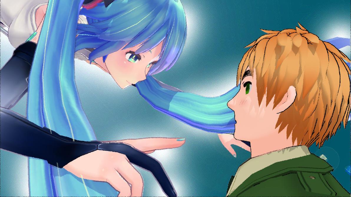 When two worlds meet by SweetKitty999