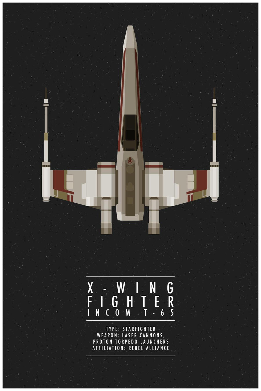 x-wing fighter by weaponix on deviantart