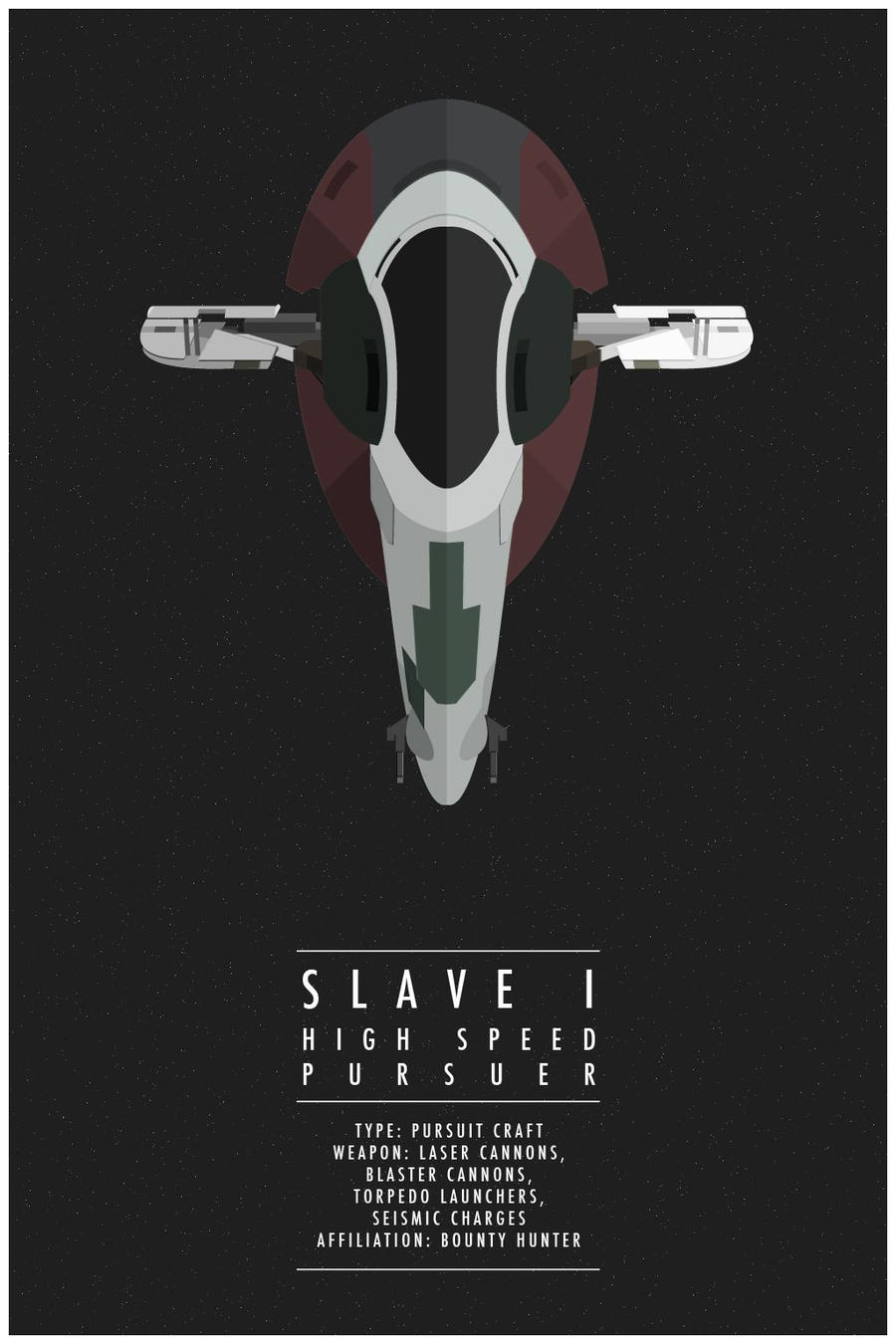 Slave I by WEAPONIX