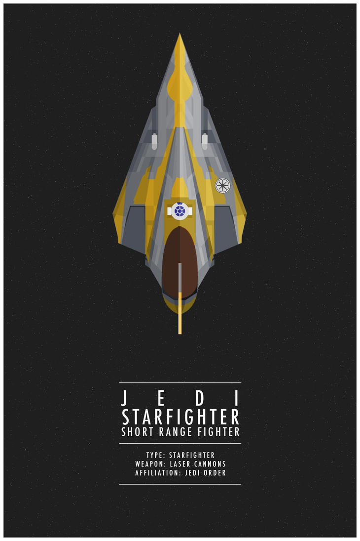 Jedi Starfighter by WEAPONIX on DeviantArt