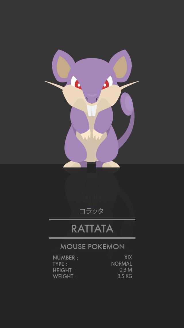 Rattata by WEAPONIX