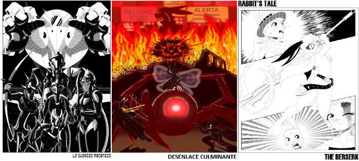 Conejo aventuras portadas de 2 artistas geniales