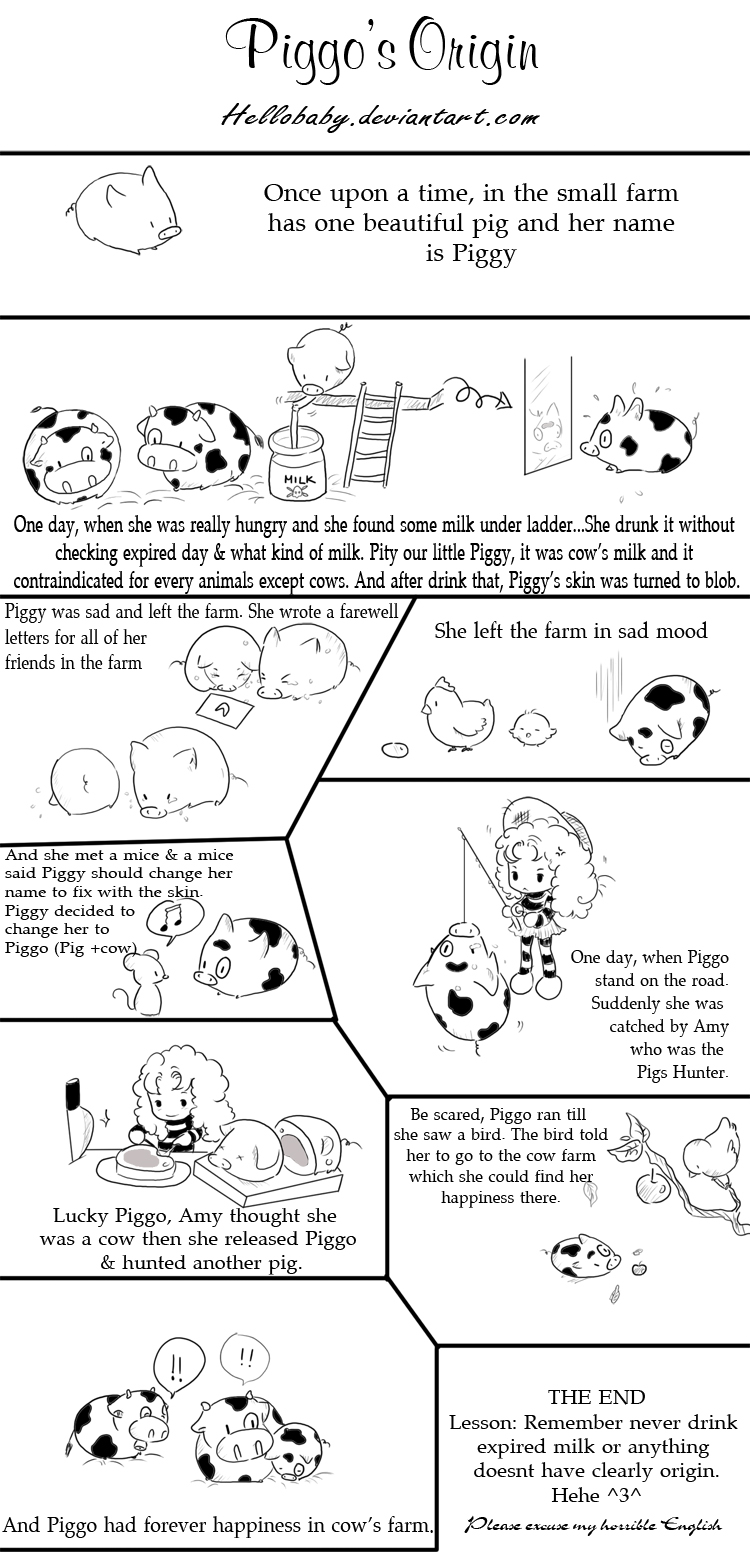 Piggo's Origin by Hellobaby