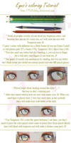Eyes's coloring Tutorial by Hellobaby