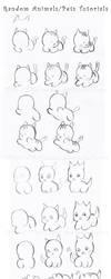 Random Pets-Animals Tutorials by Hellobaby