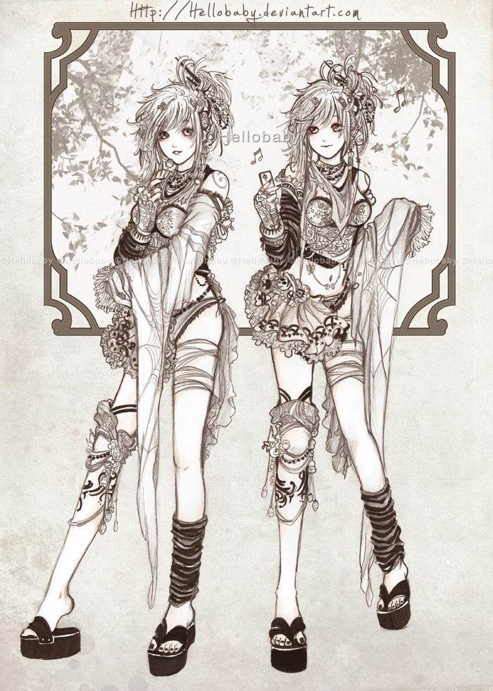 Twin Sisters by Hellobaby
