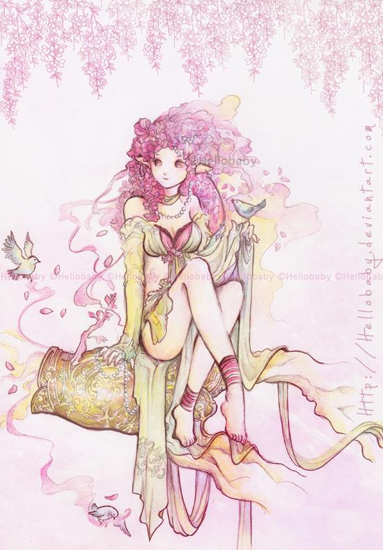 Cherries Blossom Spirit by Hellobaby