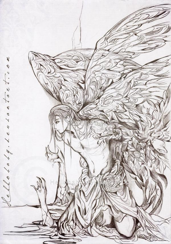 Lasael Fallen Angel By Hellobaby On DeviantArt