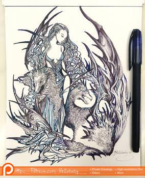 Mother Dragon - GOT