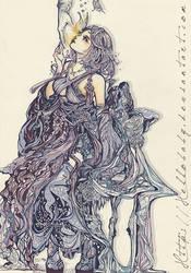 Yuna Final Fantasy by Hellobaby