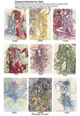 Original Artworks For Sale 2