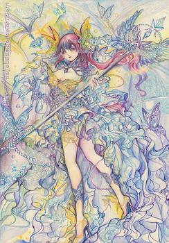 Nadeshiko - Butterfly Goddess