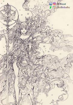 Butterfly Goddess - Nadeshiko