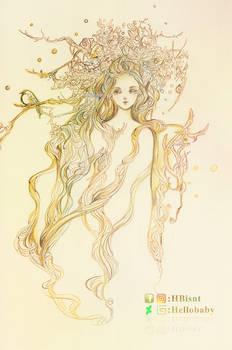 Faun girl