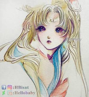 Sailormoon redraw challenge Version 2