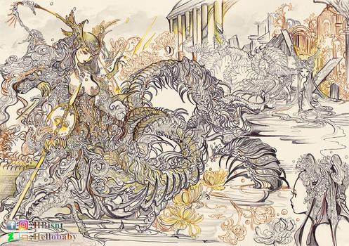 Centipede Queen