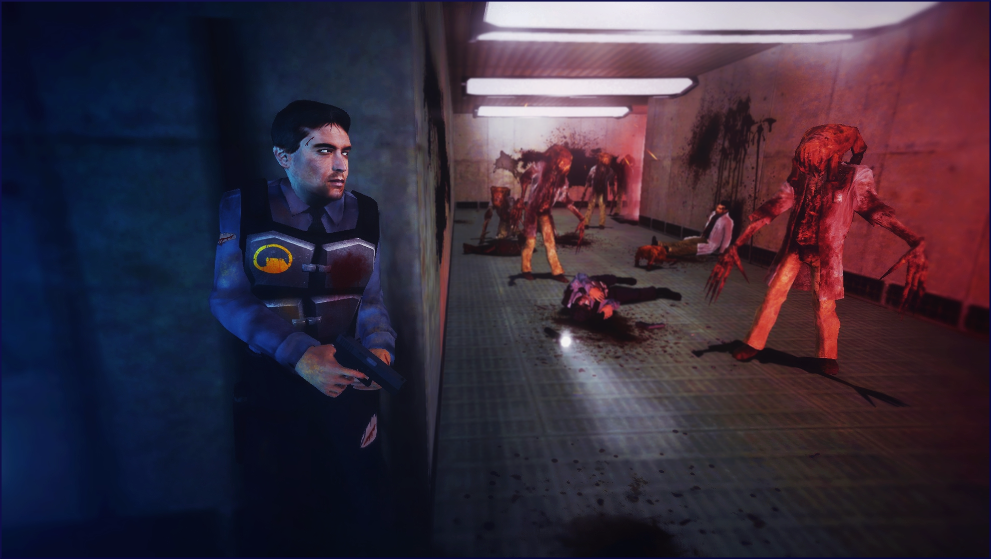 Nightmares from Black Mesa [Blue Shift] by SchwarzDahlie