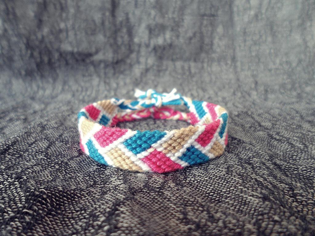 How To Basket Weave Bracelet : Basket weave bracelet by drawsomethinghere on deviantart
