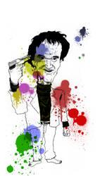 Quentin Tarantino by ill-91s