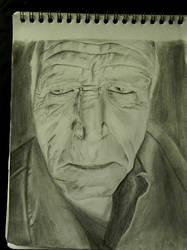Random old man by ill-91s