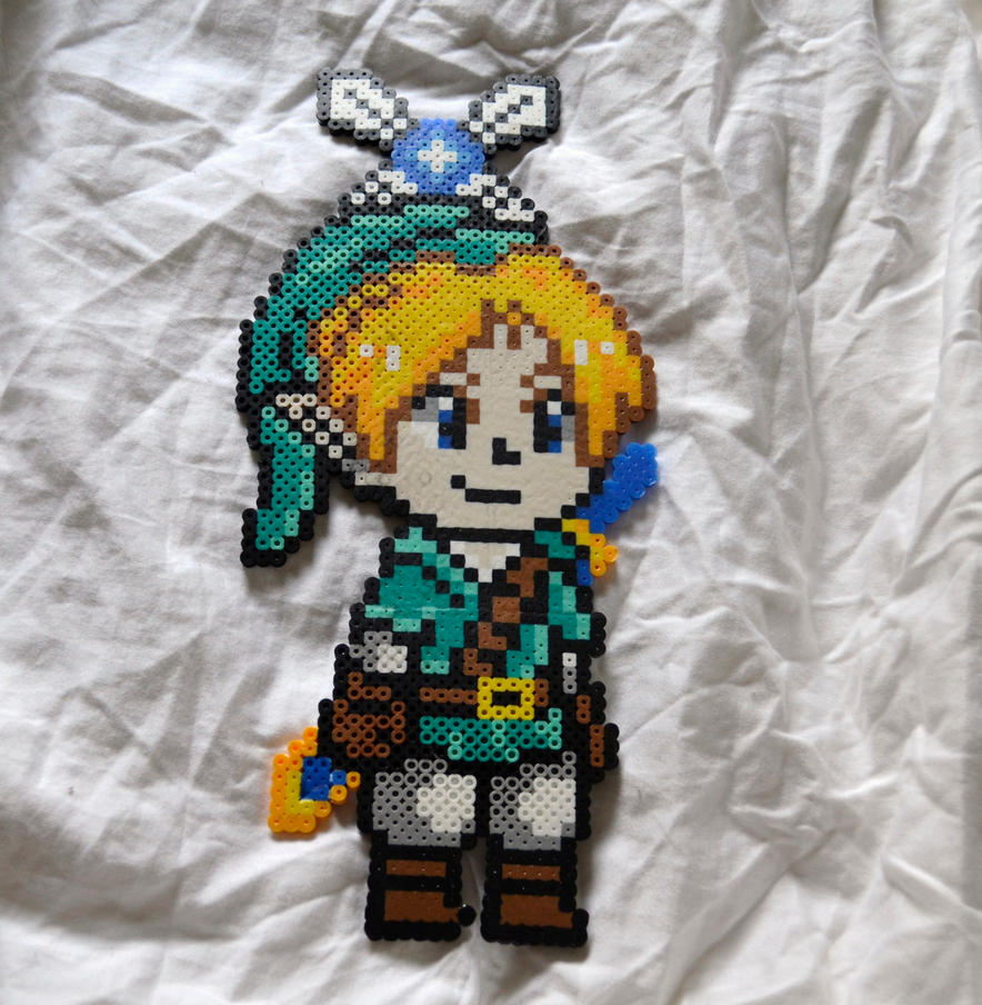 Link and Navi by perlermagic