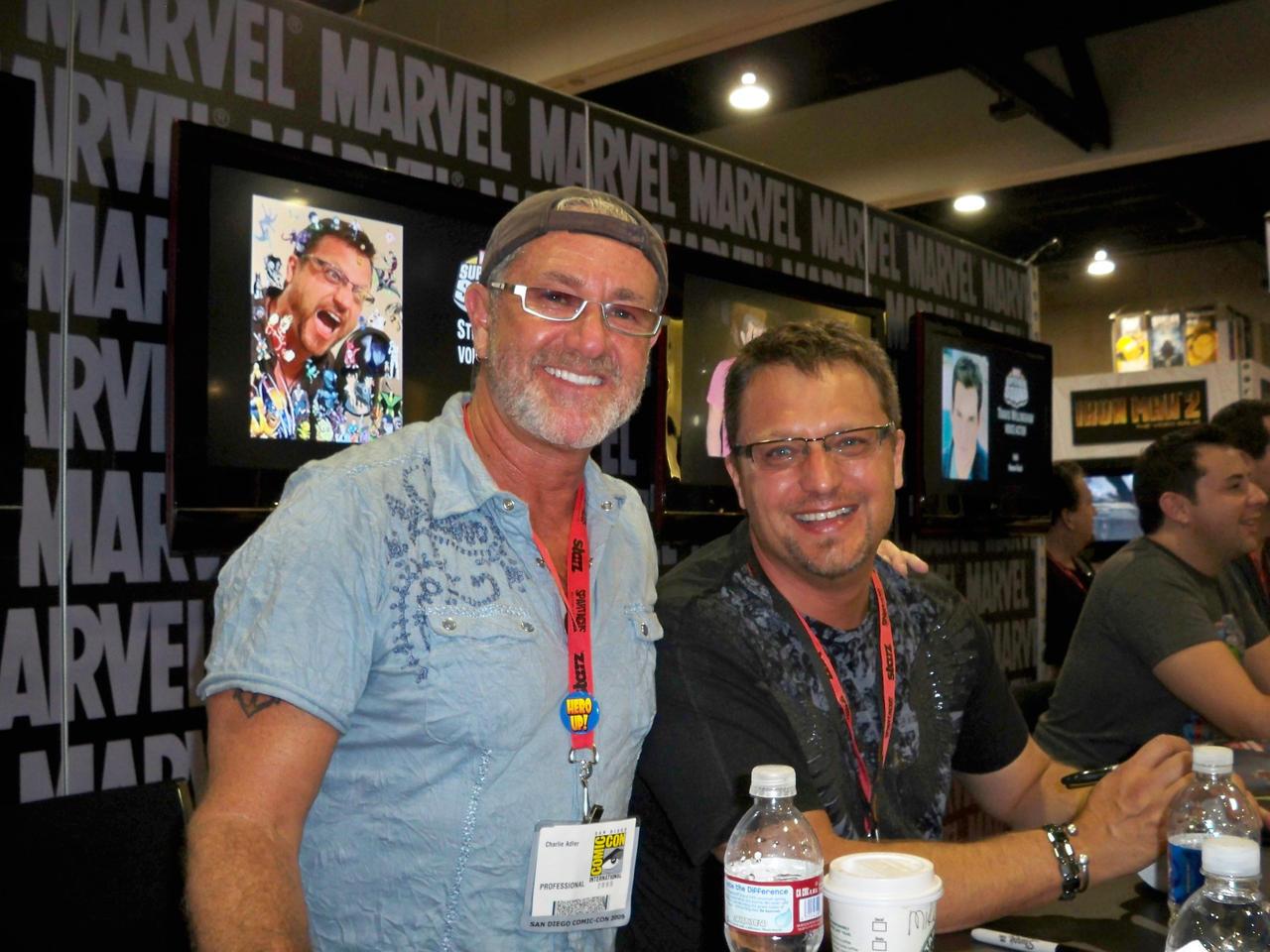 Charlie Adler and Steve Blum by OneRadicalDude