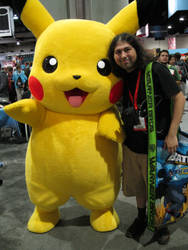 ORD and Pikachu 2010 by OneRadicalDude