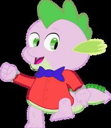I Love to Singa, Spike The Dragon Style by OneRadicalDude