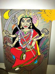 Bahuchar Maa by MRSTORYMAN
