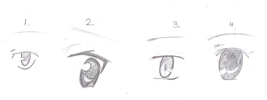 Anime Eye Samples by Fuzzdufuz