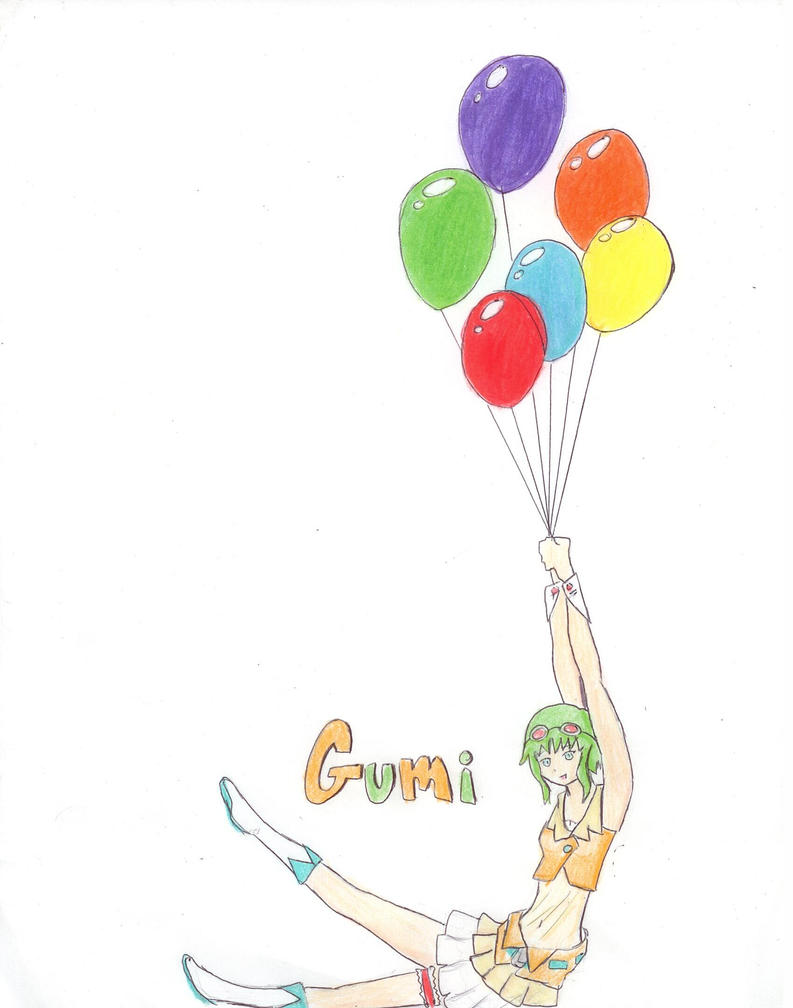 Gumi Fly Away by Fuzzdufuz