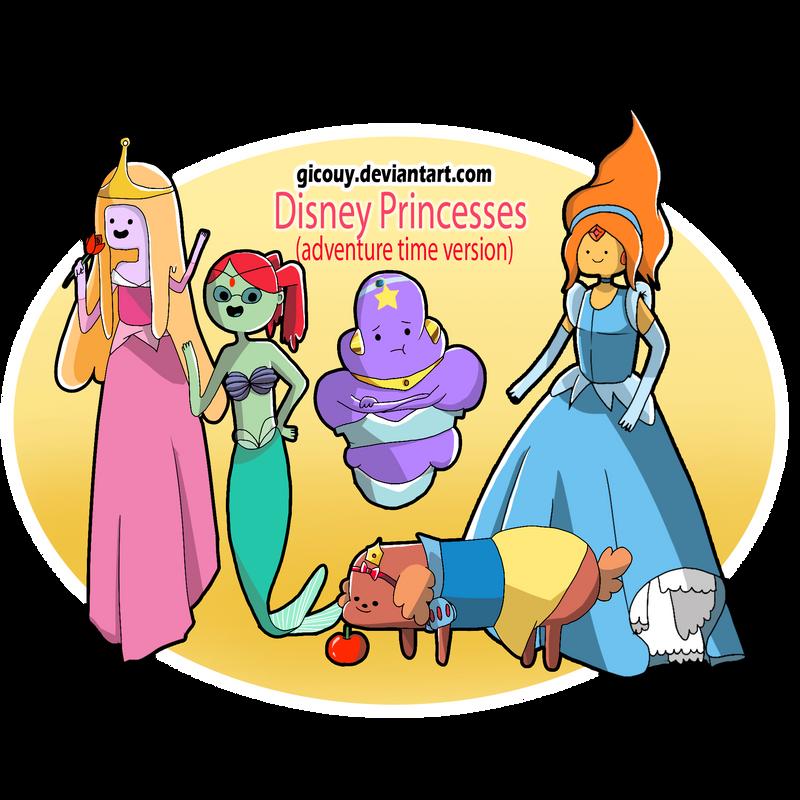 Disney Princess(Adventure Time Version) by gicouy on ...  Disney Princess...