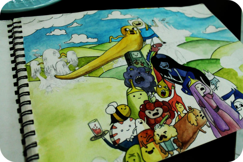 Adventure time friends (WIP) by gicouy