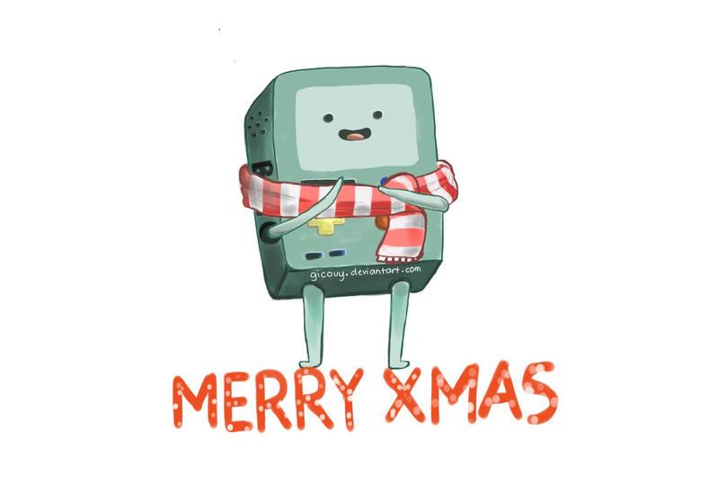 BMO Christmas by gicouy
