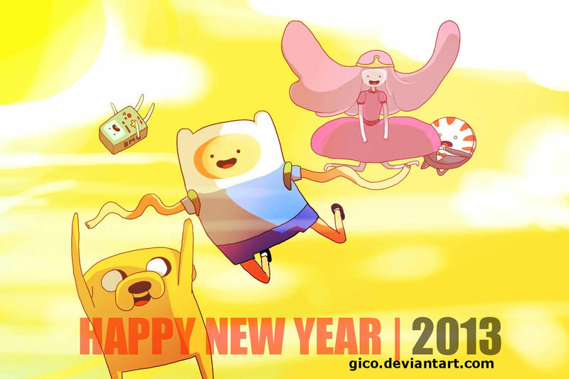 Happy 2013 by gicouy