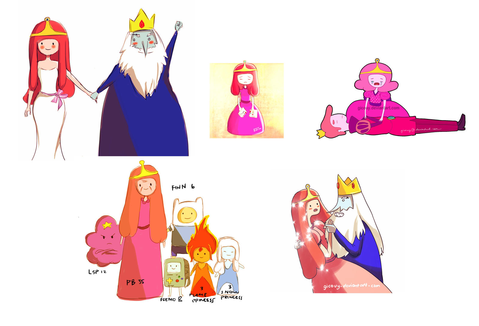 Adventure Time Sketches By Gicouy On DeviantArt