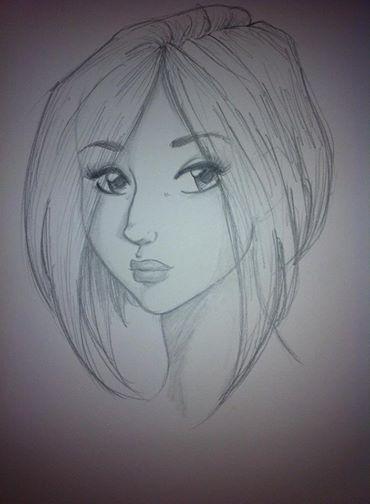 Random girl with my hairdo. by bugsytrex
