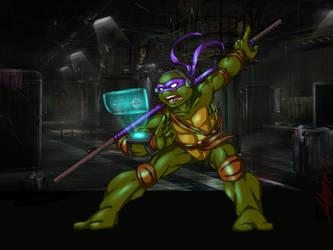 Donatello Clip Studio Practice by bugsytrex