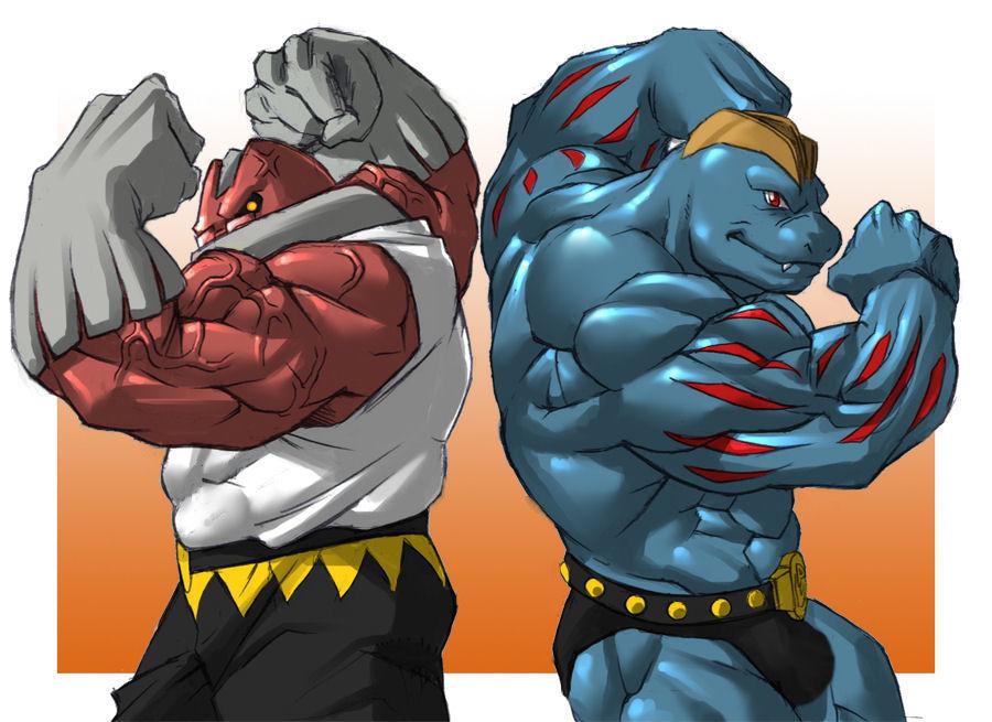 Hyper Male Muscle Growth