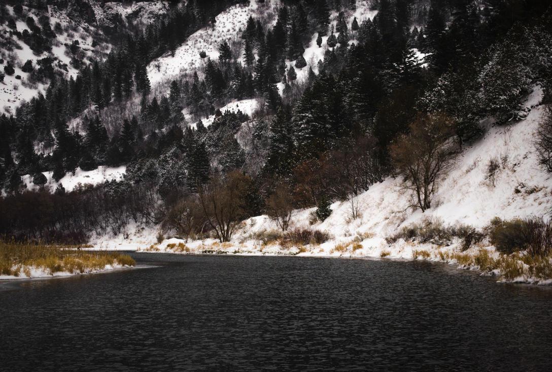Winter Waters by CaseyNealArtwork