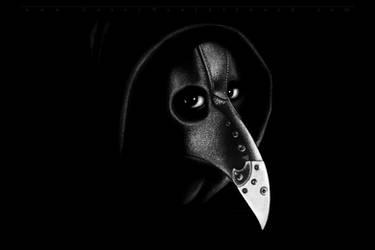 Plague Doctor by CaseyNealArtwork