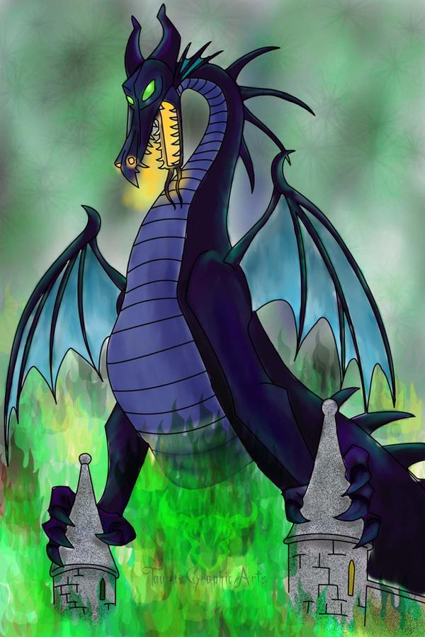 Maleficent Dragon Wallpaper Maleficent Dragon by T...