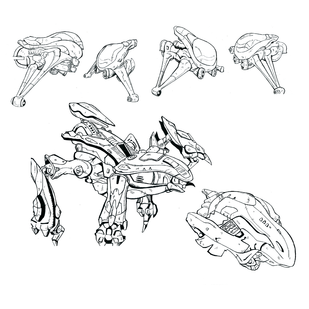 Halo Vehicles Coloring Pages Coloring